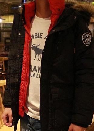 Мужские зимние куртки abercrombie & fitch