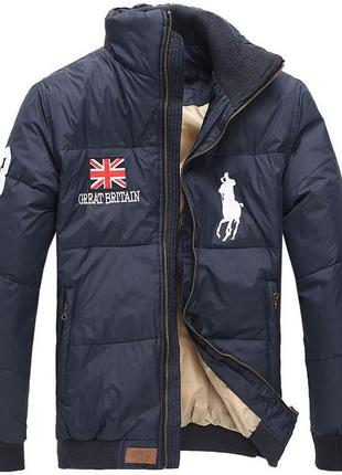 Куртка пуховик polo ralf lauren