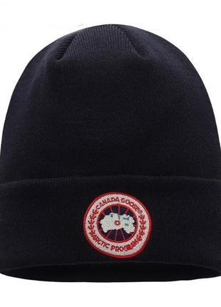 Зимние шапки canada goose на флисе оригинал