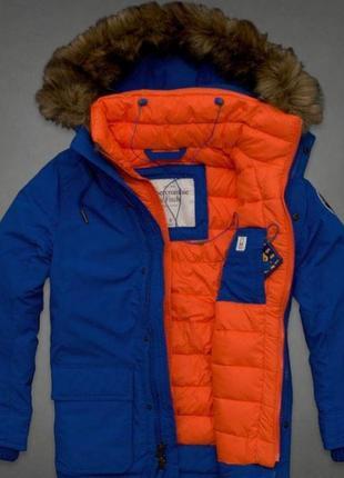 Мужские зимние куртки парки abercrombie & fitch