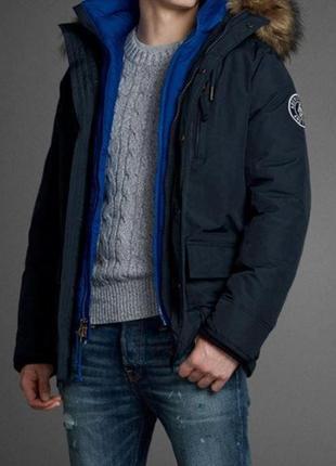 Мужская зимняя куртка парка  abercrombie & fitch