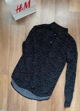 Рубашка-блуза с принтом