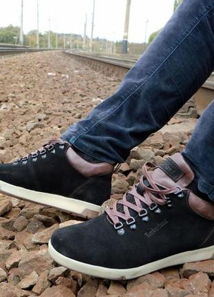 Мужские ботинки {натуральная замша}