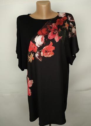Блуза новая комбинированная в цветочный принт marks&spencer uk...