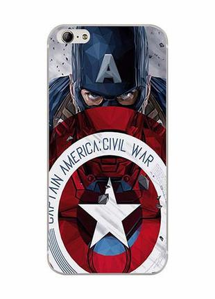 Чехол Shell для Blackview Ultra Plus (A6 Plus) Captain America