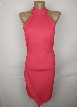 Платье розовое новое модное по фигуре river island uk 10/38/s