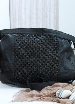 Отличная сумка aura, натуральная кожа