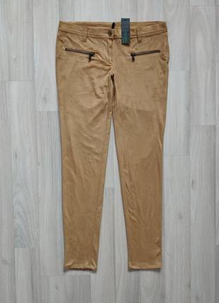 Интересные женские брюки под замш 42 44