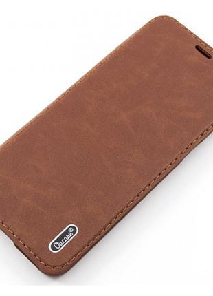 Чехол-книжка OU case iPhone 6+ коричневый