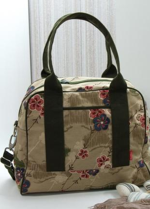 Обалденная сумка mesimu, нидерланды, текстиль