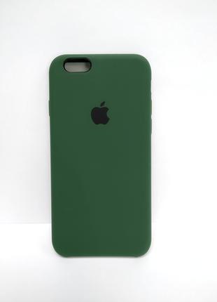 Накладка Чехол на iPhone 6s/iPhone 6 Silicone Case atrovirens
