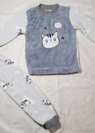 Детская теплая пижама