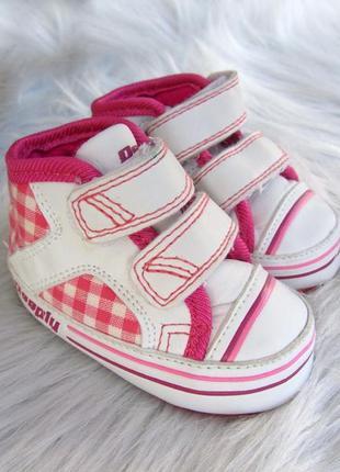 Теплые пинетки - ботинки  кроссовки кеды deeply