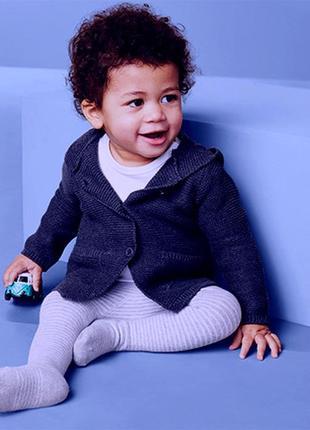 Кардиган, кофта  из мелкой вязки для малыша от tcm tchibo  гер...