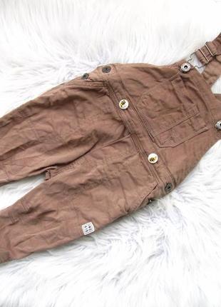 Крутой джинсовый полукомбинезон  ind kid