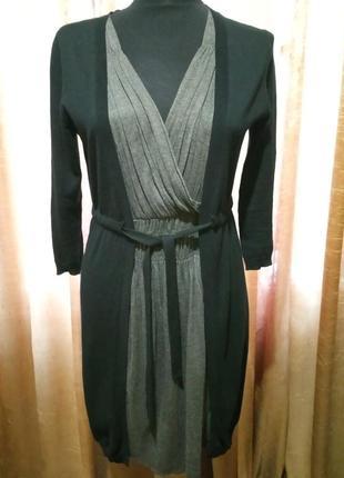 Тонкое теплое платье kookai
