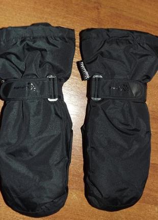 Лыжные рукавицы alpine tchibo тсм (германия), унисекс
