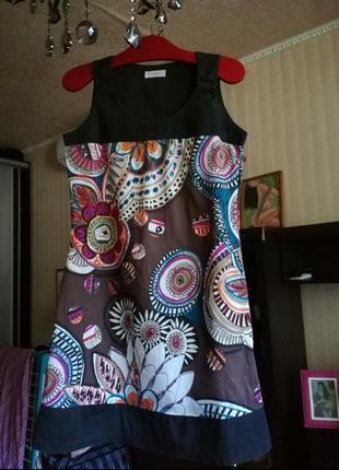 Платье в стиле versace s размер cache cache
