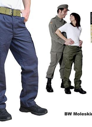 Тактические брюки leo köhler men's moleskin trousers black