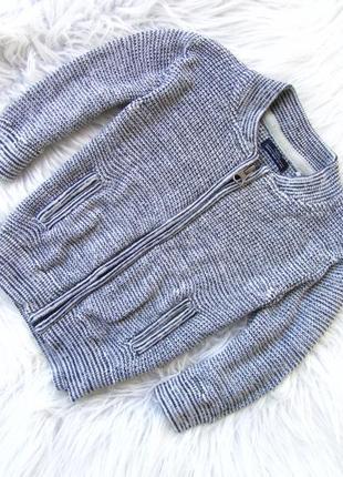 Стильная кофта свитер реглан кардиган бомбер next.