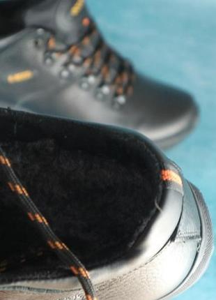 Теплые зимние мужские ботинки