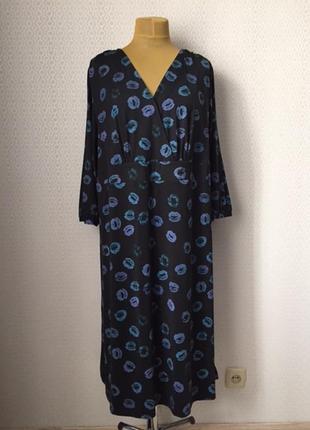 Нарядное игривое платье большой размер (нем 54, укрн 60-62) от...