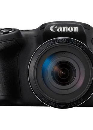 ✅ Цифровой фотоаппарат Canon PowerShot SX430 IS Black, фотоапп...