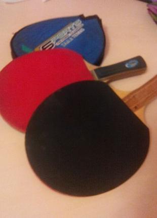 Ракетка для настільного тенісу + крепление сетки