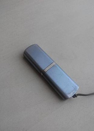 Флешка 4 ГБ мини серебро
