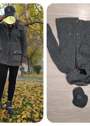 Фирменное пальто бушлат