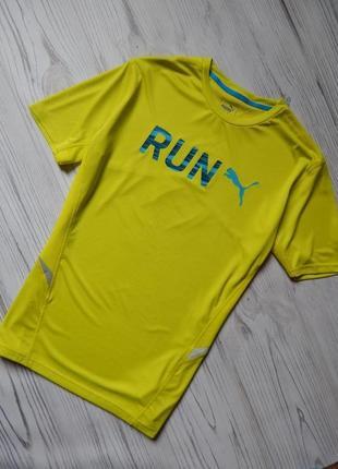 Обалденная спортивная мужская футболка от puma оригинал. разме...