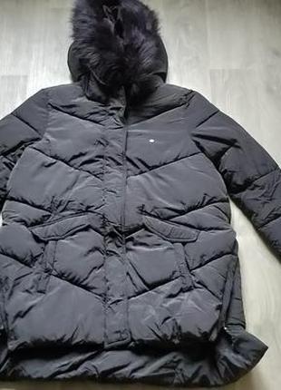 Новая женская тёплая зимняя куртка с капюшоном cropp