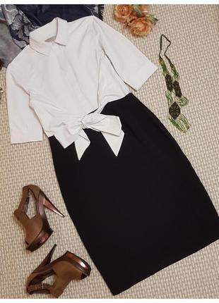 Платье hobbs с воротником