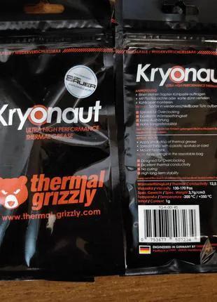 Термопаста Thermal Grizzly Kryonaut (1g) 12.5W/mk лучше чем mx-4