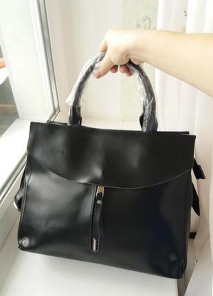Женская кожаная сумка из натуральной кожи шкіряна жіноча велик...