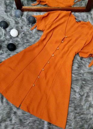 Платье рубашка трапеция а силуэта primark