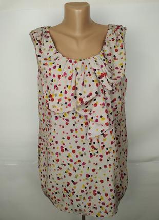 Блуза красивая легкая большой размер monsoon uk 18/46/xxl