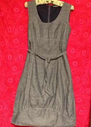 Сарафан,платье джинсовый