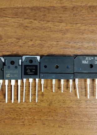 KBJ3510, D25XB80 - диодный мост для индукционной плиты транзистор