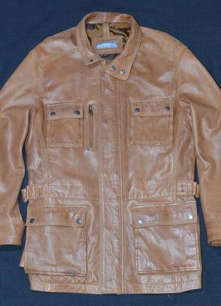 Кожаная куртка sandro p. leather casual