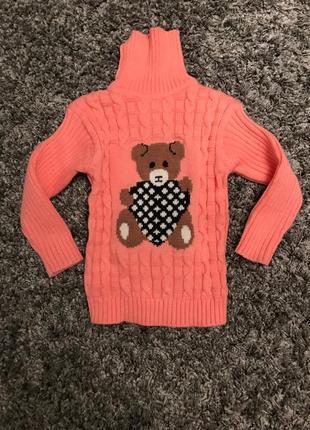 Детский свитер на 4-5 лет