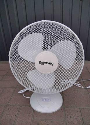 Вентилятор Rainberg RB-012 настільний 3 швидкості 40 Ват