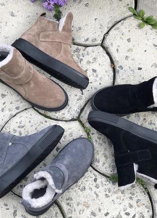 Женские зимние ботинки хайтопы
