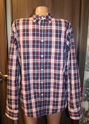 Мужская рубашка casual в идеальном состоянии м