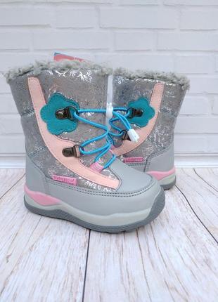Зимние ботинки на девочку фирмы том.м