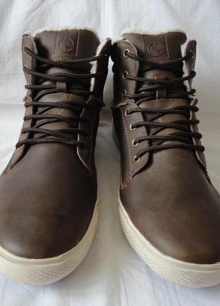 Ботинки натуральная кожа 43 размер.
