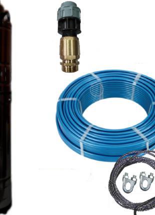 Погружной глубинный насос для скважин шнековый OX-5010 DELTA П...