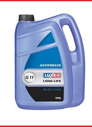 Антифриз LUXOIL Original Blue синий 5 кг