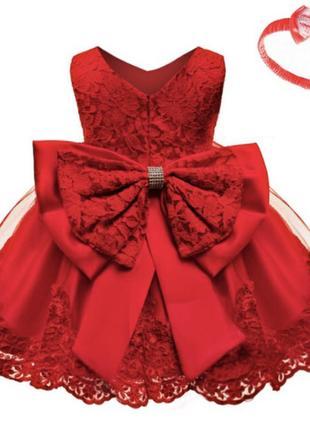 Платье нарядное кружевное модное фатин