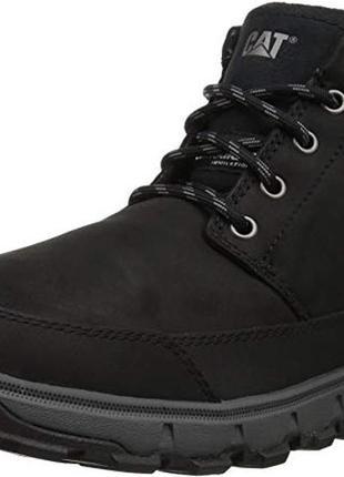 Теплые непром-мые ботинки кожа caterpillar ice 42-44